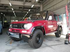 沖縄の中古車 トヨタ ランドクルーザープラド 車両価格 ASK リ済込 平成5年 30.9万K レッドII