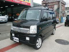 沖縄の中古車 スズキ エブリイワゴン 車両価格 61万円 リ済別 平成20年 14.5万K ブラック