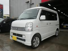 沖縄の中古車 スズキ エブリイワゴン 車両価格 75万円 リ済別 平成20年 13.6万K パール