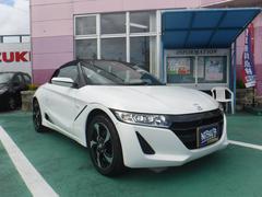 沖縄市 (株)西自動車商会 泡瀬店 ホンダ S660 α パールホワイト 0.5万K 平成27年