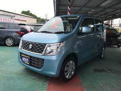 沖縄の中古車 スズキ ワゴンR 車両価格 93万円 リ済込 平成28年 1.1万K ブルーM