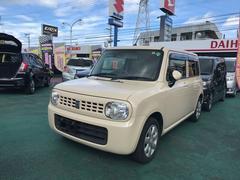 沖縄の中古車 スズキ アルトラパン 車両価格 54万円 リ済込 平成24年 10.4万K クリーム