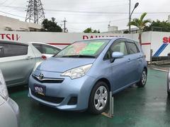 沖縄の中古車 トヨタ ラクティス 車両価格 76万円 リ済込 平成24年 4.2万K ライトブルー