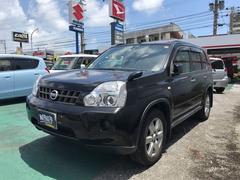 沖縄の中古車 日産 エクストレイル 車両価格 136万円 リ済込 平成20年 7.1万K ブラックM