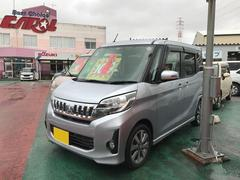 沖縄の中古車 三菱 eKスペースカスタム 車両価格 107万円 リ済込 平成26年 6.9万K シルバーM