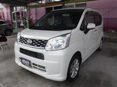 沖縄の中古車 ダイハツ ムーヴ 車両価格 110万円 リ済込 平成28年 0.3万K パールホワイト