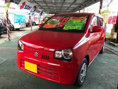 沖縄の中古車 スズキ アルト 車両価格 71万円 リ済込 平成28年 1.7万K レッド