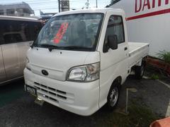 沖縄の中古車 スバル サンバートラック 車両価格 65万円 リ済込 平成24年 3.2万K ホワイト