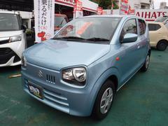 沖縄の中古車 スズキ アルト 車両価格 83万円 リ済込 平成28年 1.1万K フィズブルー