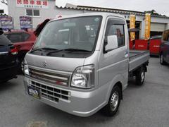 沖縄の中古車 スズキ キャリイトラック 車両価格 81万円 リ済込 平成28年 0.5万K シルバー