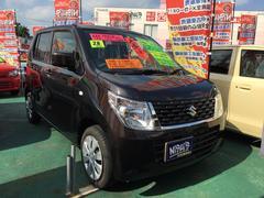 沖縄の中古車 スズキ ワゴンR 車両価格 93万円 リ済込 平成28年 1.0万K ブラウン