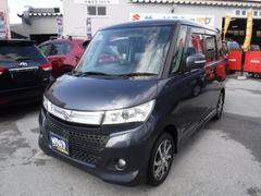沖縄の中古車 スズキ パレットSW 車両価格 84万円 リ済込 平成24年 5.1万K ルナグレーパールメタリック