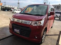 沖縄の中古車 スズキ ワゴンRスティングレー 車両価格 64万円 リ済込 平成24年 3.9万K レッド