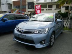 沖縄の中古車 トヨタ カローラフィールダー 車両価格 167.4万円 リ済別 平成25年 5.0万K ブルー