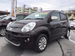 沖縄の中古車 トヨタ パッソ 車両価格 72万円 リ済別 平成24年 6.7万K ブラウン