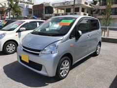 沖縄の中古車 ダイハツ ムーヴ 車両価格 73万円 リ済別 平成23年 4.2万K シルバー
