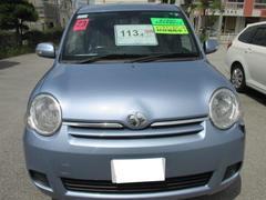沖縄の中古車 トヨタ シエンタ 車両価格 86万円 リ済別 平成23年 5.3万K ライトブルーメタリック