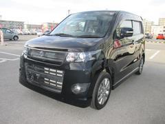 沖縄の中古車 スズキ ワゴンRスティングレー 車両価格 88.6万円 リ済別 平成23年 3.6万K ブラック