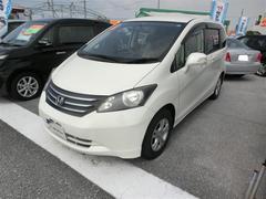 沖縄の中古車 ホンダ フリード 車両価格 75万円 リ済別 平成21年 7.4万K パールマイカ