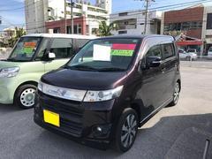 沖縄の中古車 スズキ ワゴンRスティングレー 車両価格 81万円 リ済別 平成23年 6.4万K パープル
