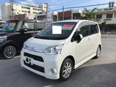 沖縄の中古車 ダイハツ ムーヴ 車両価格 88.6万円 リ済別 平成24年 6.2万K パールホワイト