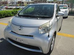 沖縄の中古車 トヨタ iQ 車両価格 39万円 リ済別 平成21年 7.2万K シルバーM