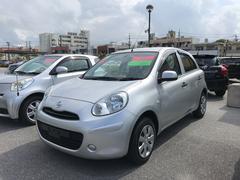 沖縄の中古車 日産 マーチ 車両価格 43.2万円 リ済別 平成24年 7.1万K シルバー