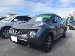沖縄の中古車 日産 ジューク 車両価格 113.4万円 リ済別 平成24年 6.1万K グレー