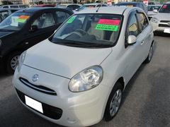 沖縄の中古車 日産 マーチ 車両価格 67万円 リ済別 平成23年 3.5万K パールマイカ