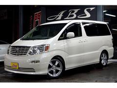 沖縄の中古車 トヨタ アルファードV 車両価格 69万円 リ済別 平成15年 12.3万K パールホワイト