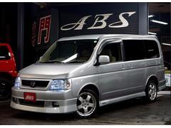 沖縄の中古車 ホンダ ステップワゴン 車両価格 33万円 リ済別 平成14年 8.2万K シルバーM