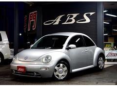 沖縄市 ABS フォルクスワーゲン VW ニュービートル ベースグレード 禁煙 実走行 タイミングベルト交換済み リフレックスシルバーメタリック 5.2万K 2004年