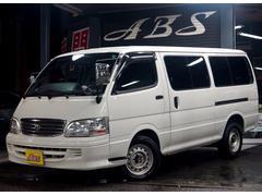 沖縄の中古車 トヨタ ハイエースワゴン 車両価格 58万円 リ済別 平成13年 19.7万K ホワイト