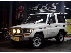 沖縄の中古車 トヨタ ランドクルーザープラド 車両価格 83万円 リ済別 平成4年 26.1万K ホワイト