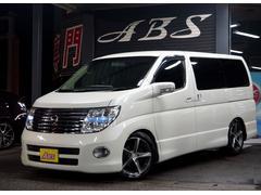 沖縄の中古車 日産 エルグランド 車両価格 49万円 リ済別 平成17年 10.9万K ホワイトパール
