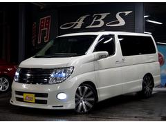 沖縄の中古車 日産 エルグランド 車両価格 59万円 リ済別 平成18年 9.1万K ホワイトパール