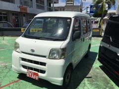 沖縄の中古車 ダイハツ ハイゼットカーゴ 車両価格 28万円 リ済込 平成19年 12.8万K ホワイト