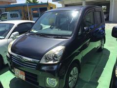 沖縄の中古車 スバル ステラ 車両価格 30万円 リ済込 平成18年 11.9万K ガンMII