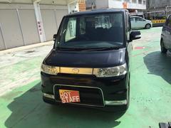 沖縄の中古車 ダイハツ タント 車両価格 33万円 リ済込 平成19年 12.2万K ブラックM