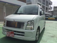 沖縄の中古車 スズキ ワゴンR 車両価格 23万円 リ済込 平成18年 8.1万K パールホワイト