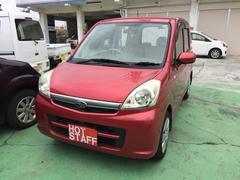 沖縄の中古車 スバル ステラ 車両価格 26万円 リ済込 平成19年 8.7万K レッドII
