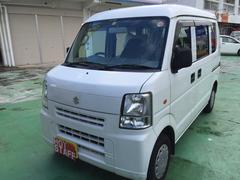 沖縄の中古車 スズキ エブリイ 車両価格 26万円 リ済込 平成19年 15.3万K ホワイト