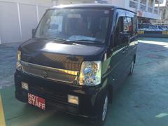 沖縄の中古車 スズキ エブリイワゴン 車両価格 48万円 リ済込 平成20年 10.7万K ブラック