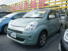 沖縄の中古車 トヨタ パッソ 車両価格 59万円 リ済別 平成23年 4.6万K グリーン
