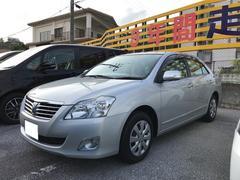 沖縄の中古車 トヨタ プレミオ 車両価格 124.2万円 リ済別 平成24年 4.2万K シルバー