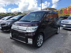 沖縄の中古車 ダイハツ ムーヴ 車両価格 66万円 リ済別 平成22年 5.3万K ブラウン