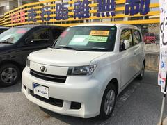 沖縄の中古車 トヨタ bB 車両価格 75.6万円 リ済別 平成25年 5.8万K パールホワイト
