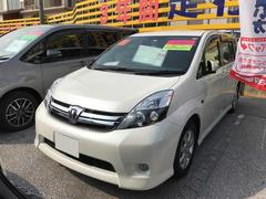 沖縄の中古車 トヨタ アイシス 車両価格 162万円 リ済別 平成27年 2.6万K パールホワイト