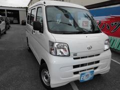 沖縄の中古車 ダイハツ ハイゼットカーゴ 車両価格 84.6万円 リ済別 新車  特色