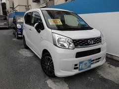 沖縄の中古車 ダイハツ ムーヴ 車両価格 96万円 リ済込 平成27年 0.5万K ホワイト